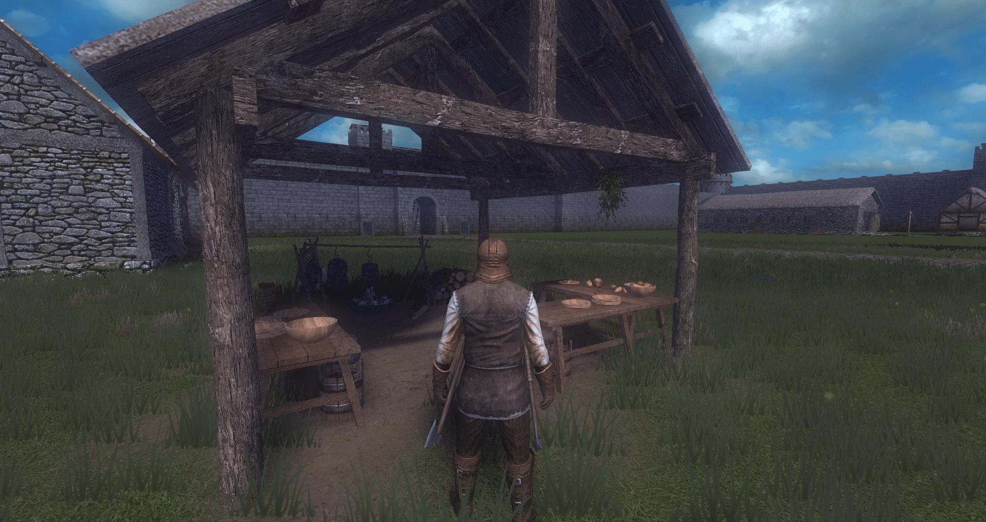 Life is feudal как сделать костер