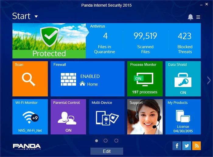 Panda Internet Security 2015