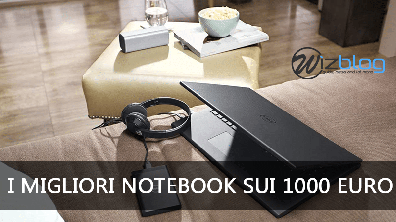 notebook sui 1000 euro