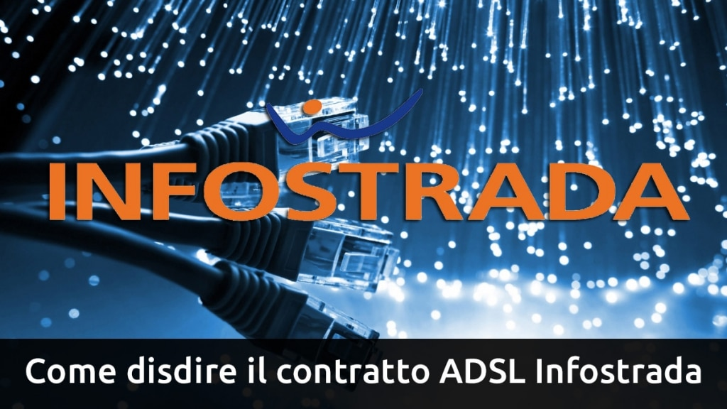 disdire contratto ADSL Infostrada