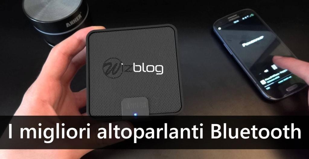 miglior altoparlante bluetooth