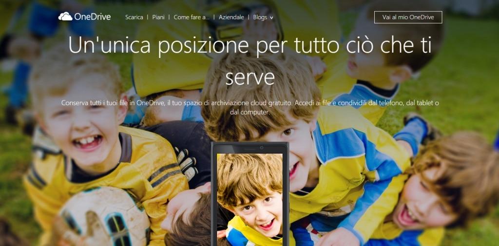 disattivare OneDrive in Windows 8.1
