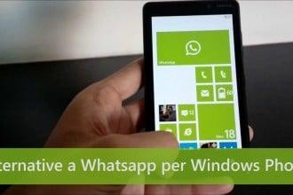 alternative a whatsapp su windows phone