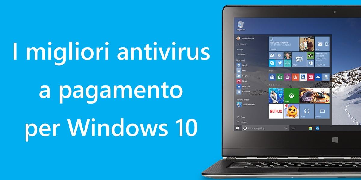 antivirus a pagamento per windows 10