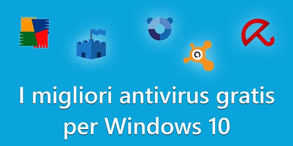 antivirus gratis per windows 10