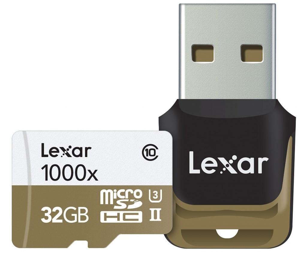 Lexar MicroSDHC