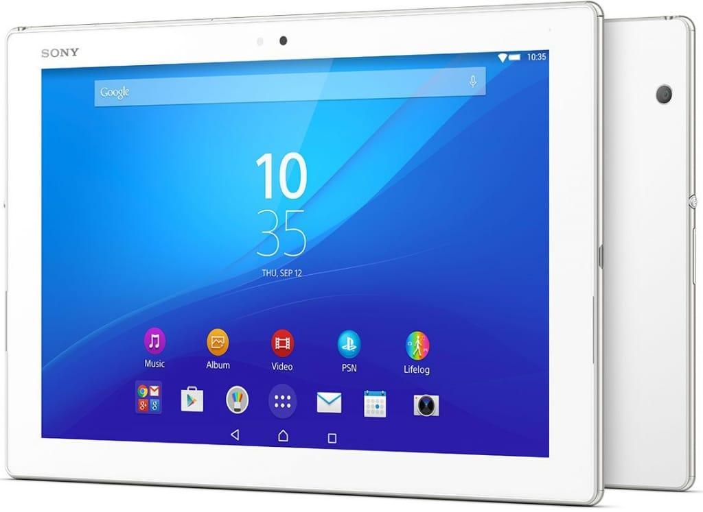 Sony Xperia Z4 tablet bianco