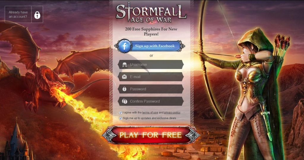 sito Stormfall Age of War
