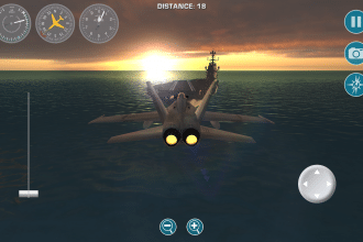 Un volo da pilota di bush flying