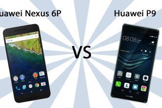 Huawei Nexus 6P vs Huawei P9