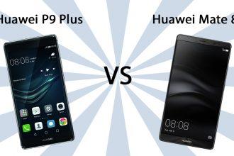 Huawei P9 Plus vs Huawei Mate 8