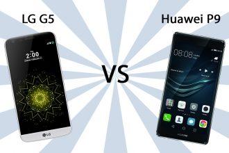 LG G5 vs Huawei P9
