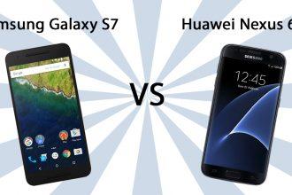 Samsung Galaxy S7 vs Huawei Nexus 6P