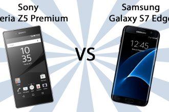 Sony Xperia Z5 Premium vs Samsung Galaxy S7 Edge