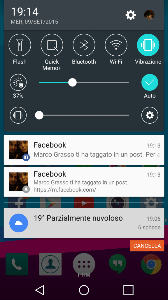 android 7 notifiche