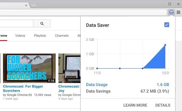 estensione Data Saver