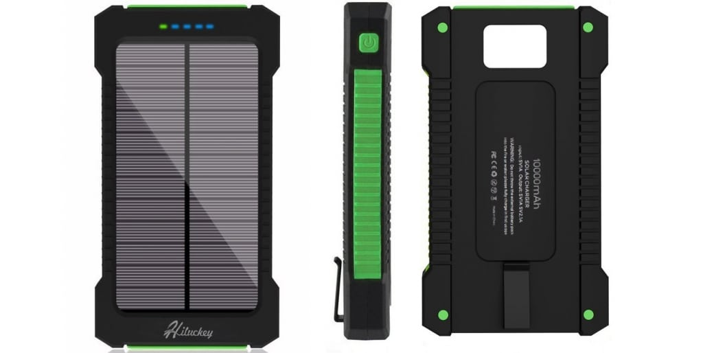 hiluckey power bank solare