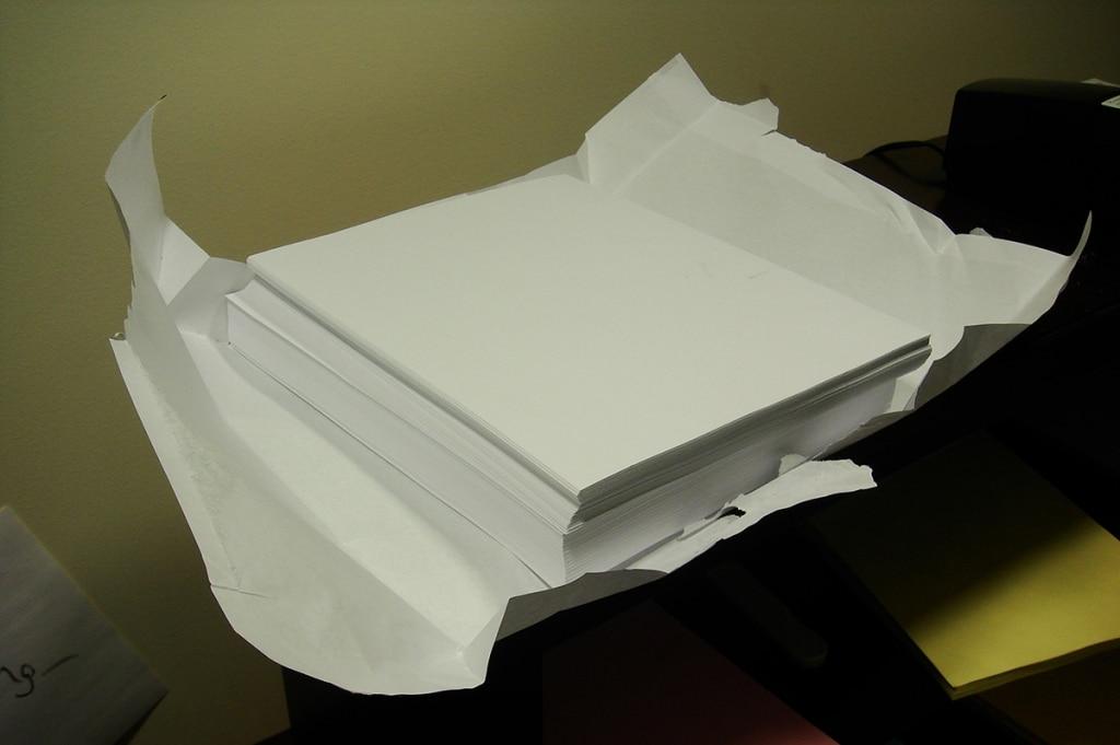 carta per stampante