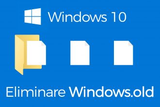 eliminare Windows.old windows 10