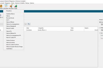 schermata iniziale Gei Software