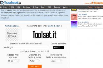 tool creare logo mr webmaster