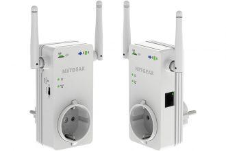 Netgear WN3100RP con presa passante