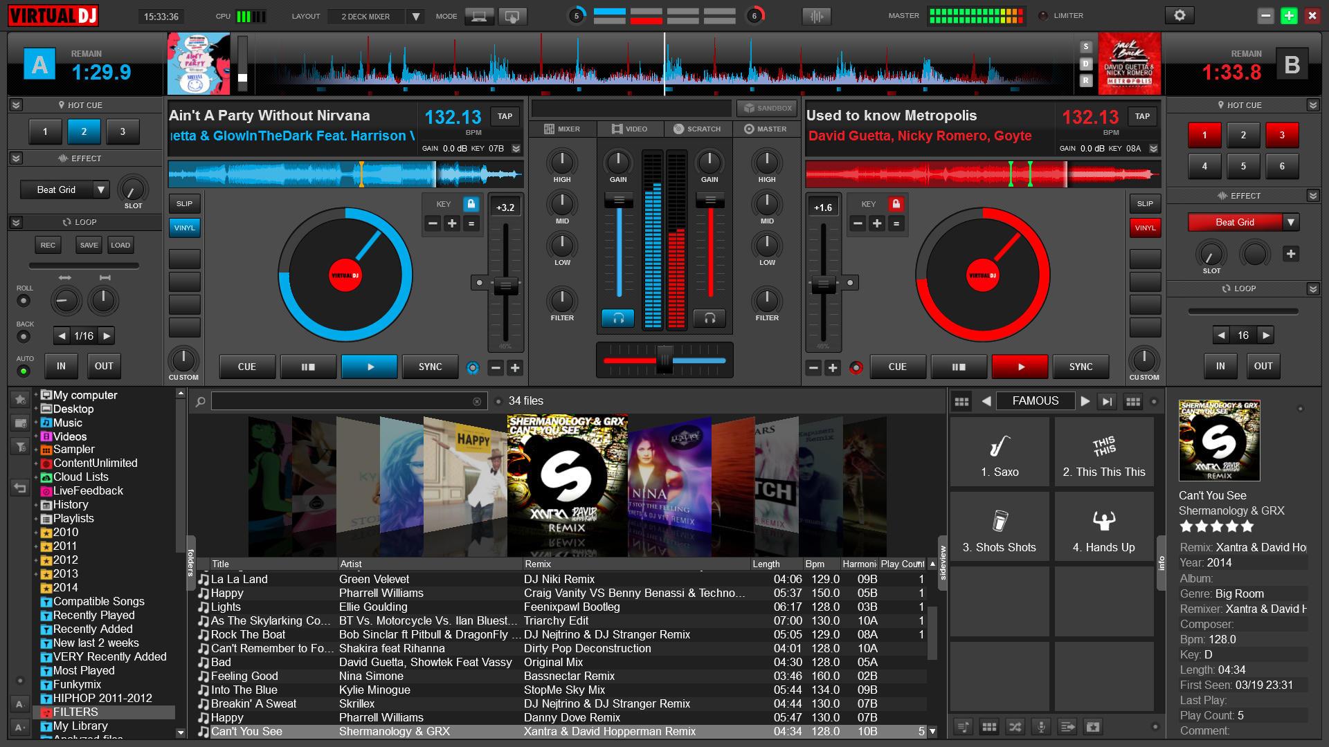 programma mixare canzone