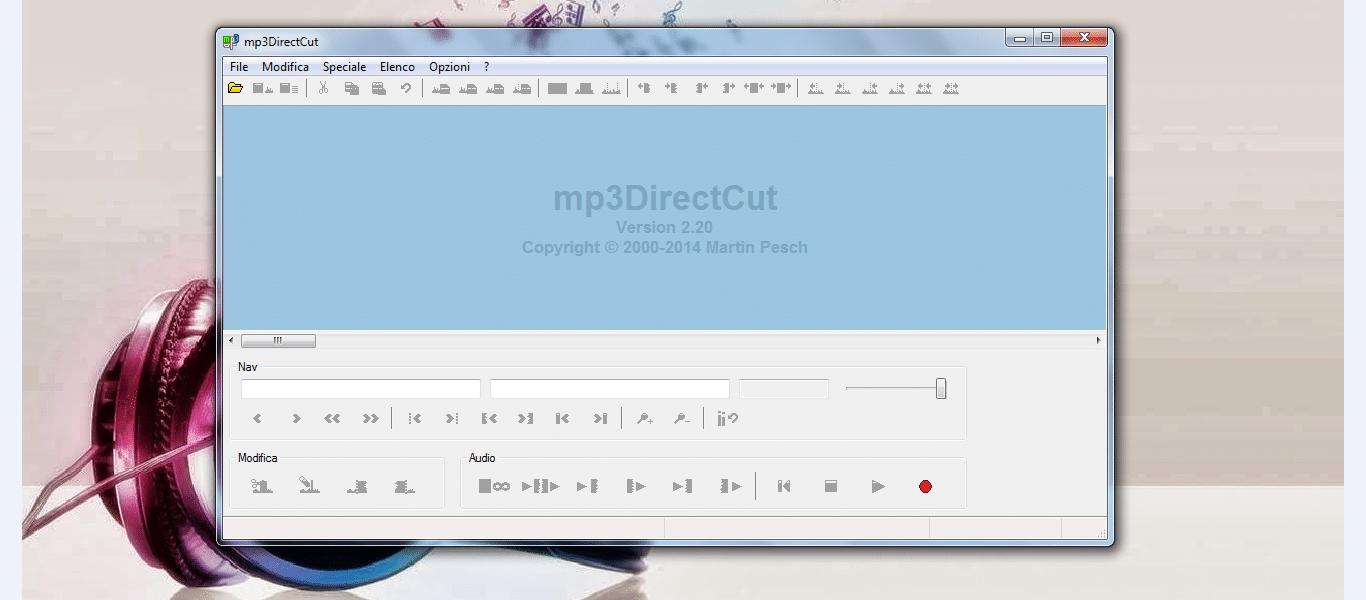 Mp3DirectCut per windows