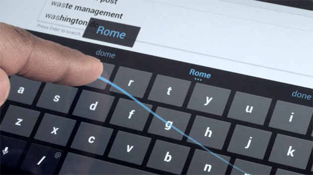 Eliminare Swype Android tastiera