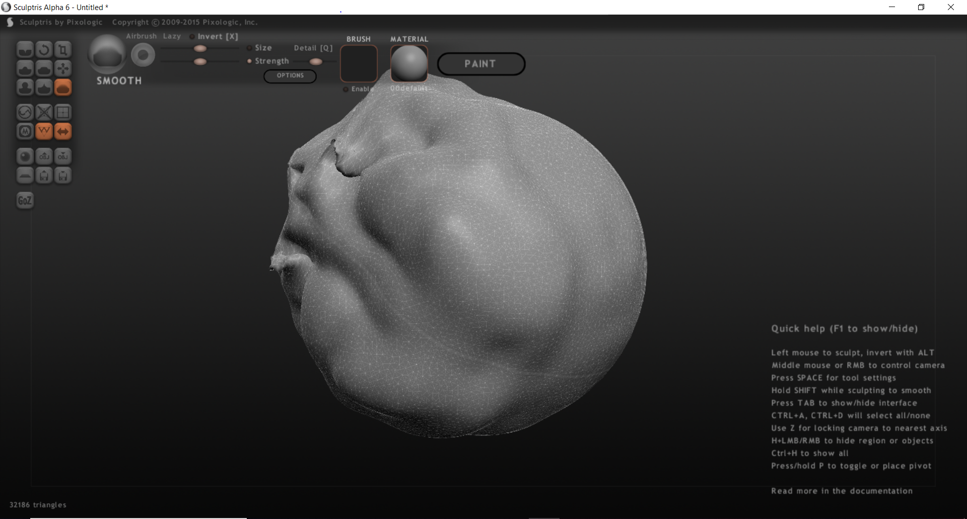 Sculptris per windows e mac