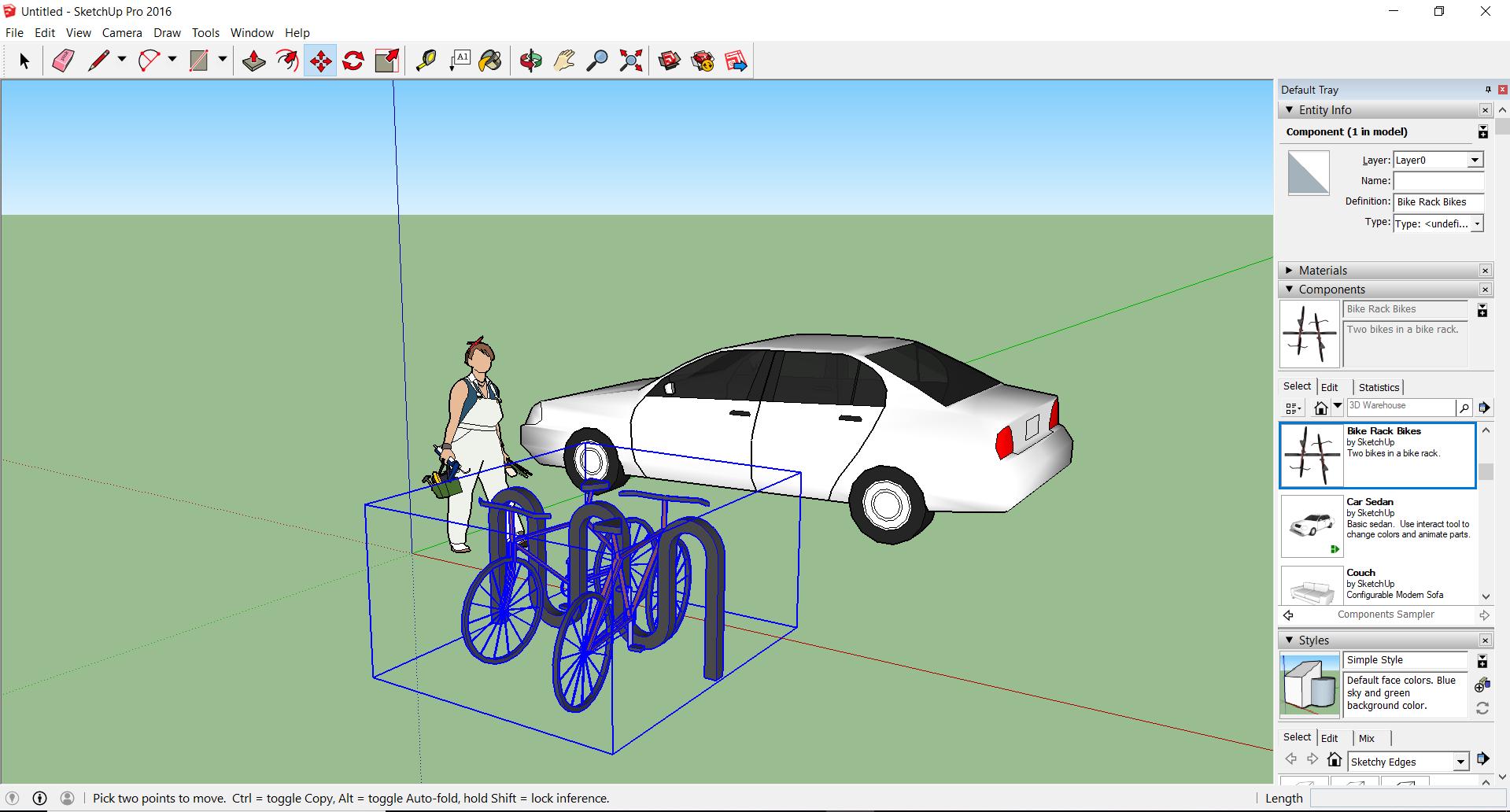 SketchUp programma 3D