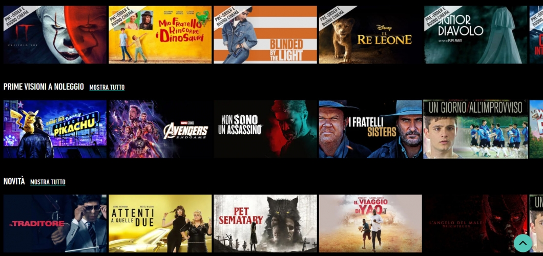 Come acquistare o noleggiare un film su internet