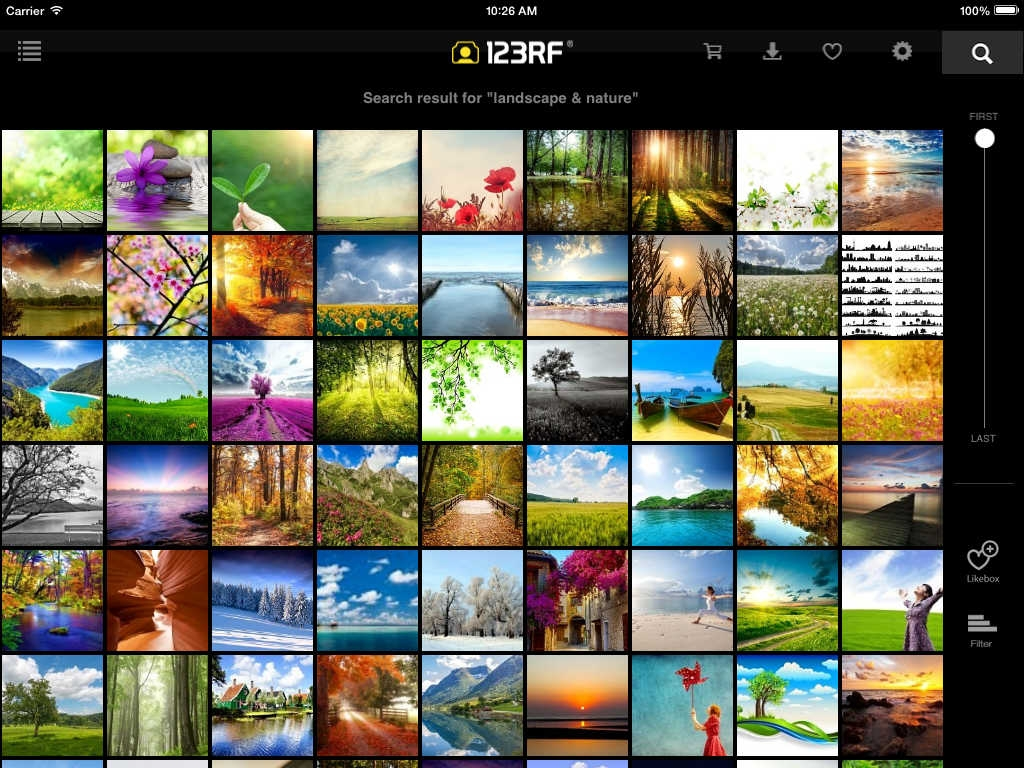 123RF foto professionali