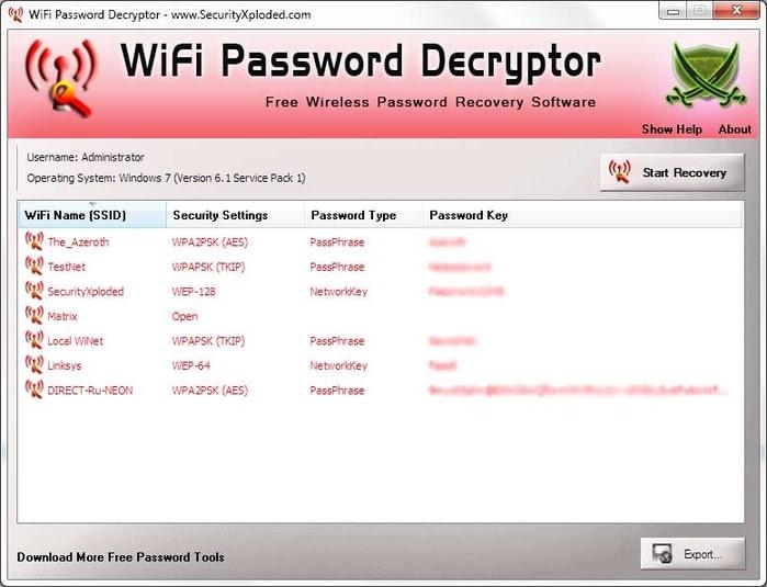 programma per trovare password wifi per iphone gratis