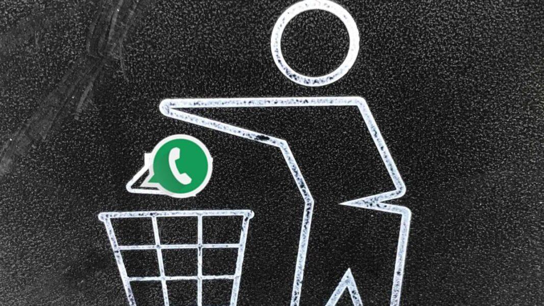 Come eliminare l'account WhatsApp