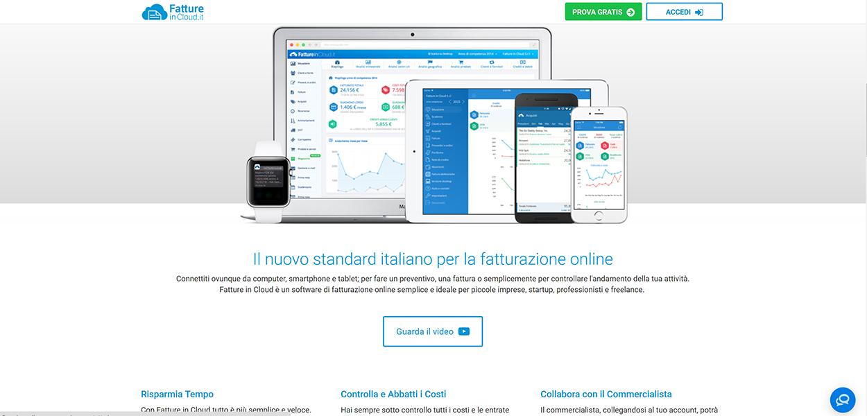 fatture in cloud gestione contabile