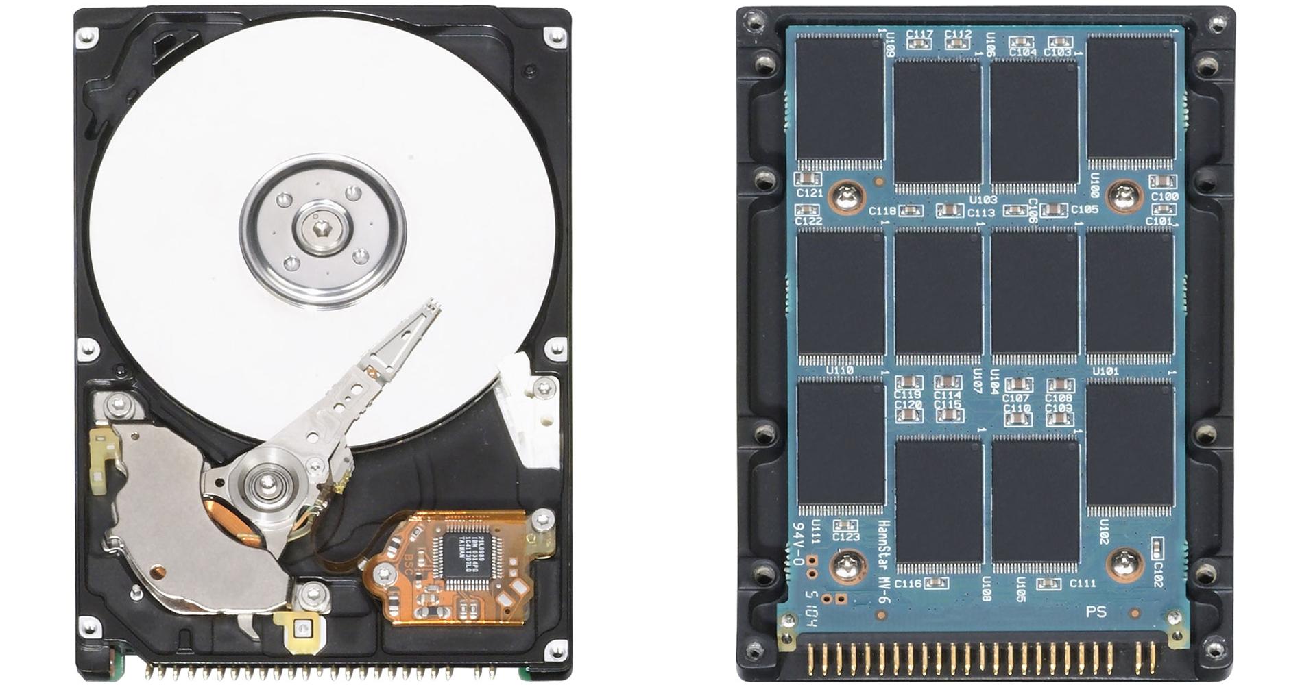 Memoria SSD vs Disco Magnetico