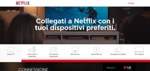 Come funziona Netflix Italia
