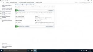 Come disattivare il firewall in Windows 10 e 8.1
