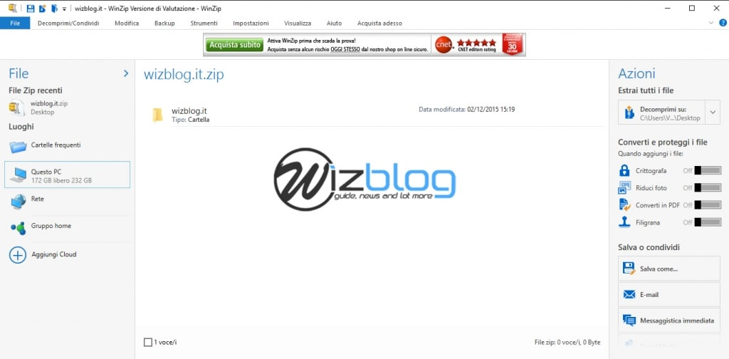 winzip freeware windows 10