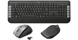 Recensione Trust Tecla, tastiera e mouse wireless