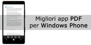 Migliori app pdf per Windows Phone