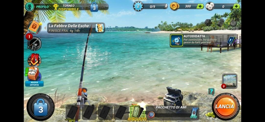 Applicazione Fishing Clash