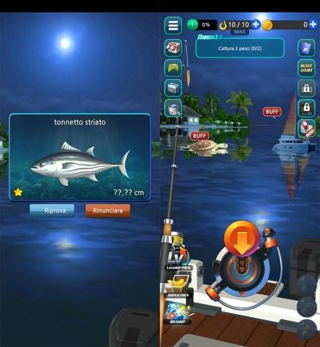 app gioco Fishing Hook