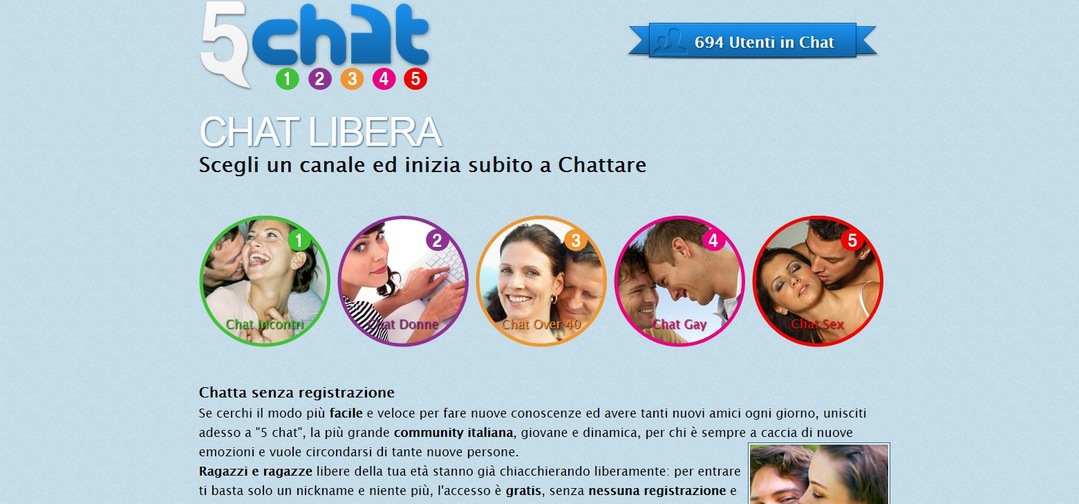 fantasie sessuali chat gratuite