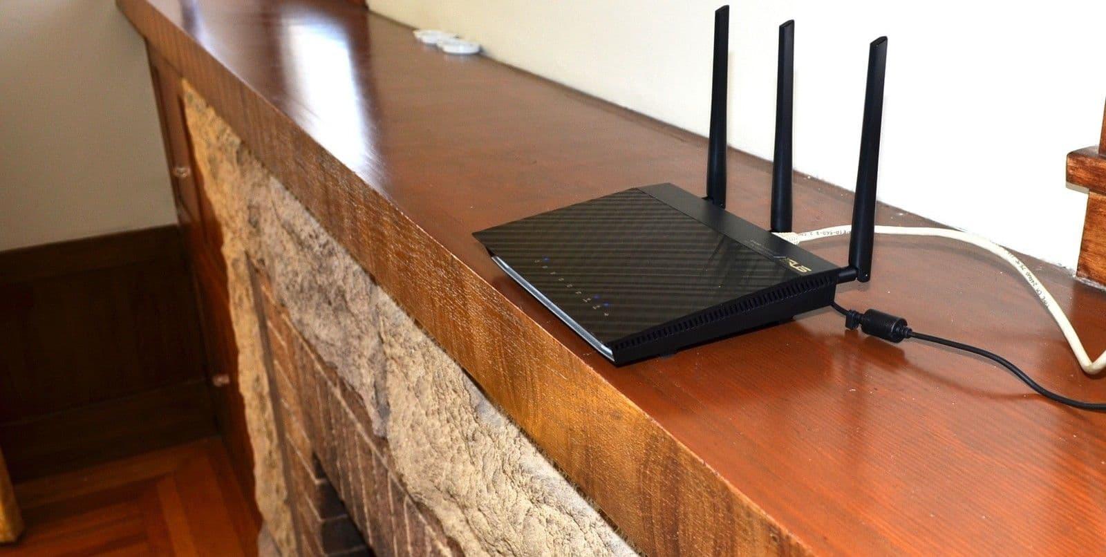posizionamento router wifi