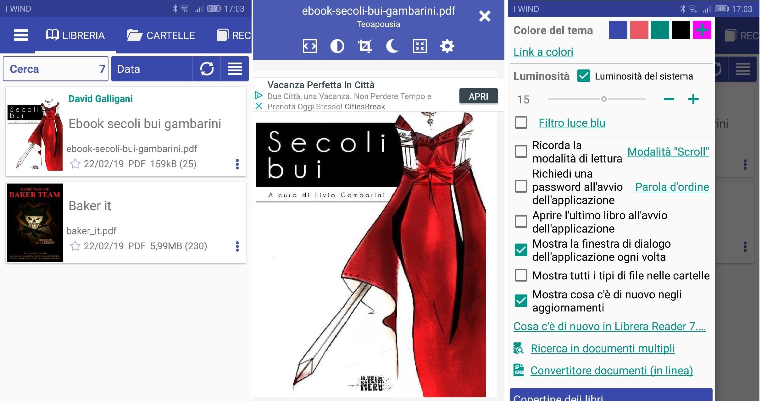 Librera Reader per android
