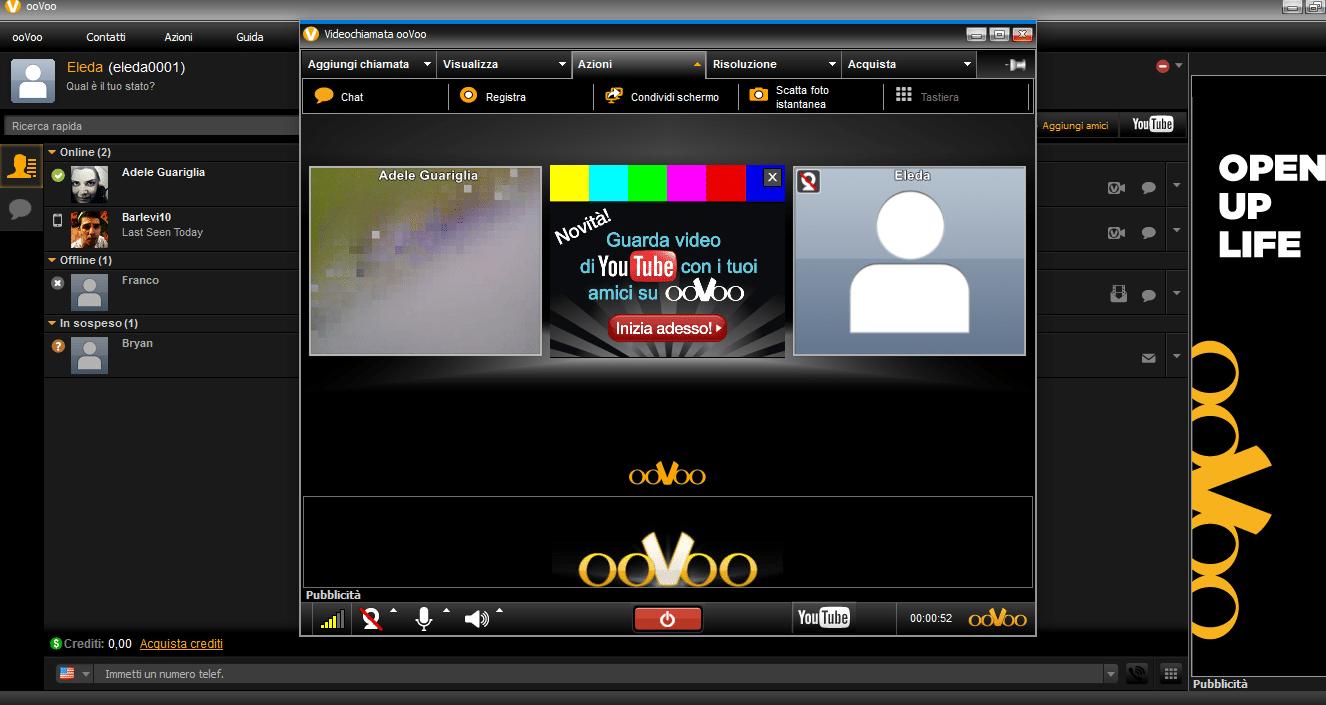 Come fare la condivisione schermo con ooVoo su PC - WizBlog