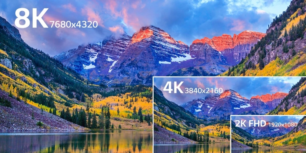 8K Ultra High Definition Television