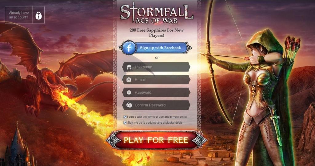 sito Stormfall Age of War